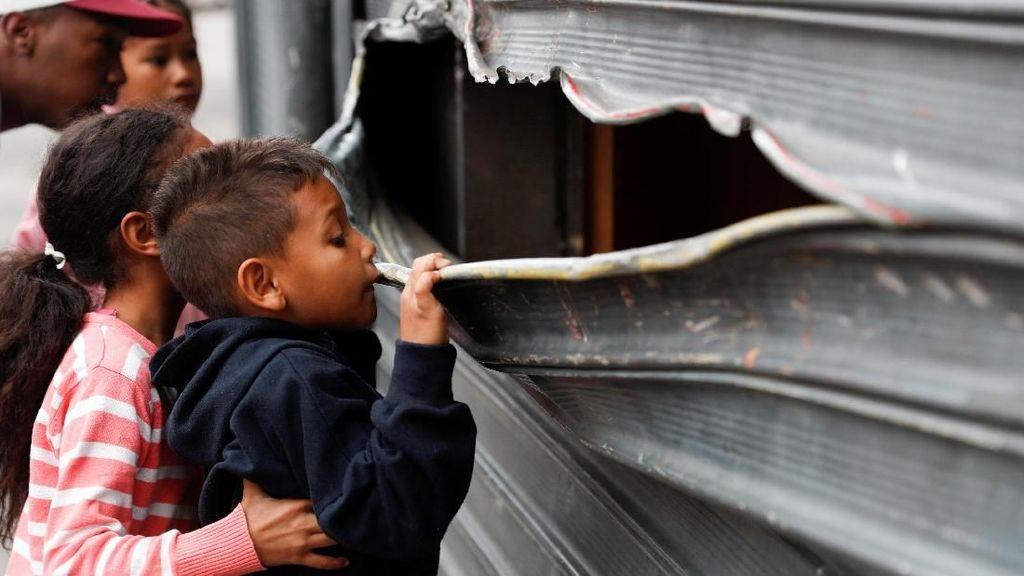 Rusuh di Venezuela, Begini Kerusakannya