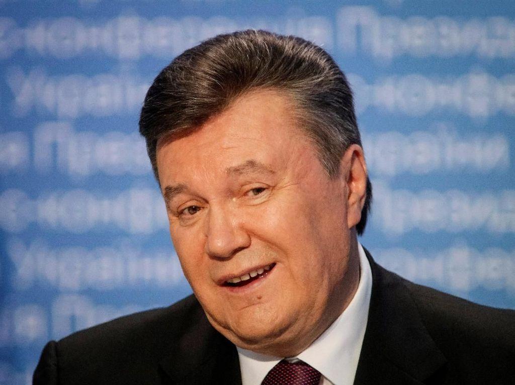 Mantan Presiden Ukraina Divonis 13 Tahun Bui Akibat Pengkhianatan