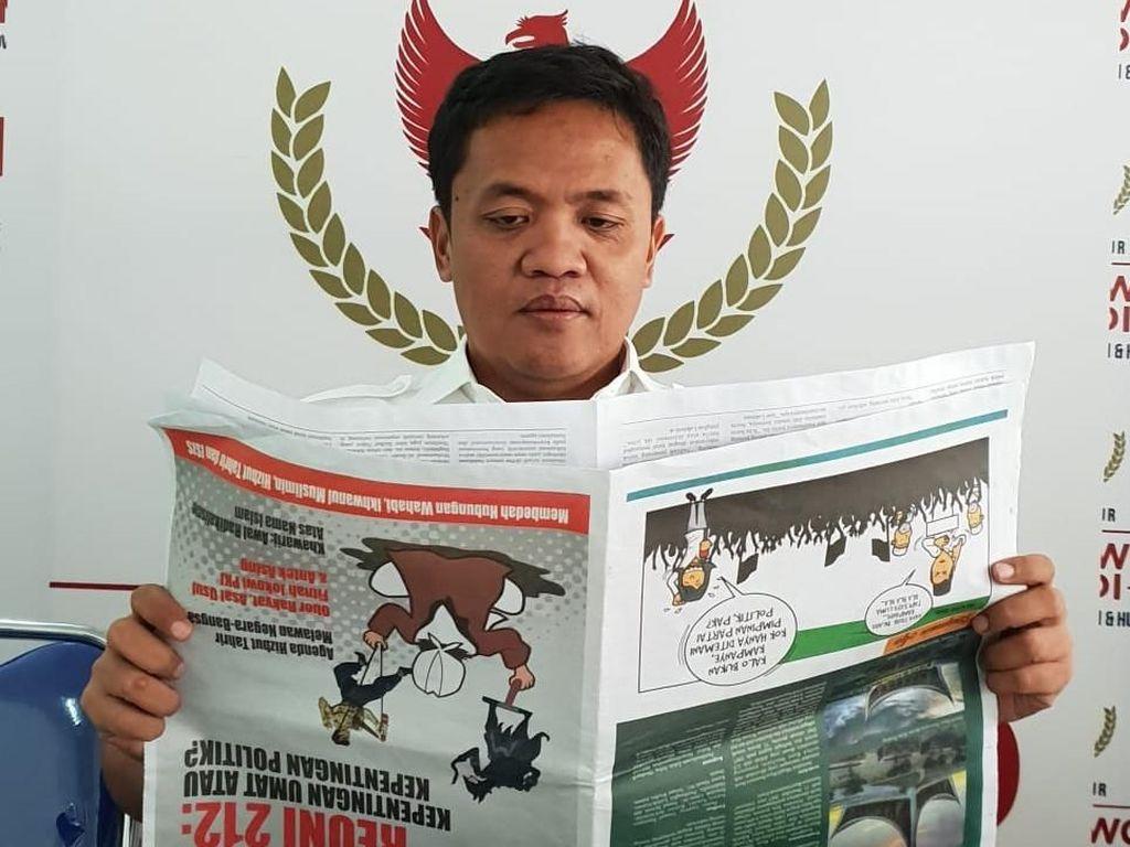 Indonesia Barokah Dipastikan Bukan Pers, BPN Tempuh Jalur Hukum