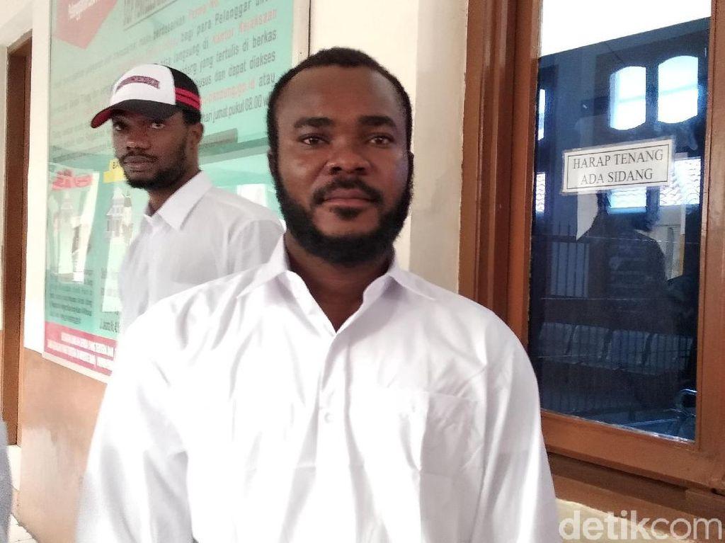 Pengakuan WN Nigeria: Niat Karier Sepakbola Berujung Vonis Hakim
