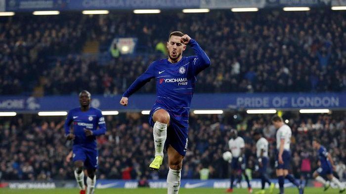 Eden Hazard saat bermain di Stamford Bridge. (Foto: Matthew Childs/Action Images via Reuters)