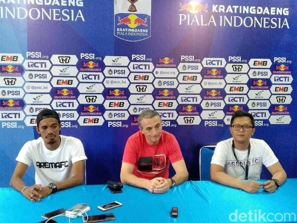 Hadapi Persita di Piala Indonesia, Arema Bidik Kemenangan Perdana di 2019