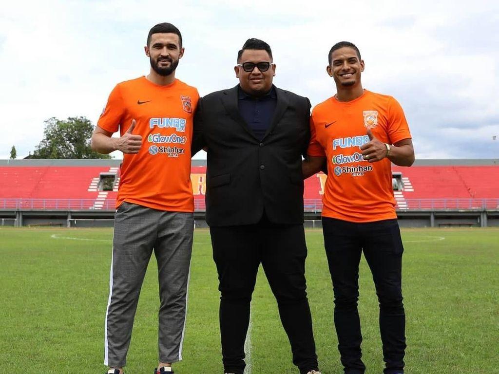 Borneo FC Dapatkan Javlon Guseynov dan Renan Silva