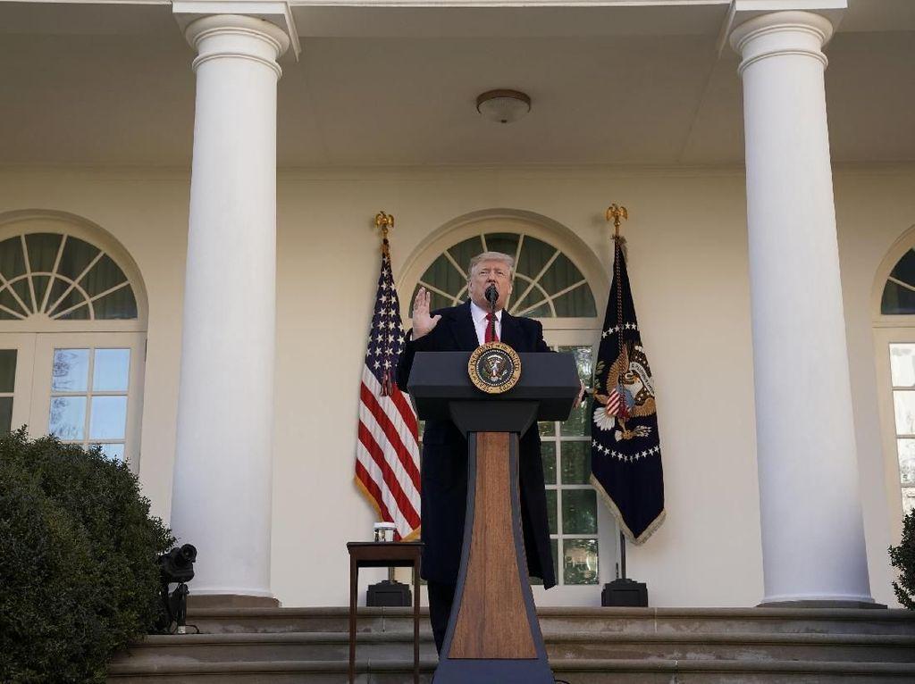 Trump Melunak, Penutupan Pemerintahan AS Berakhir