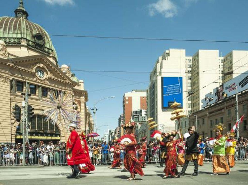Semarak 10 New Bali Meriahkan Australia Day Parade di Melbourne