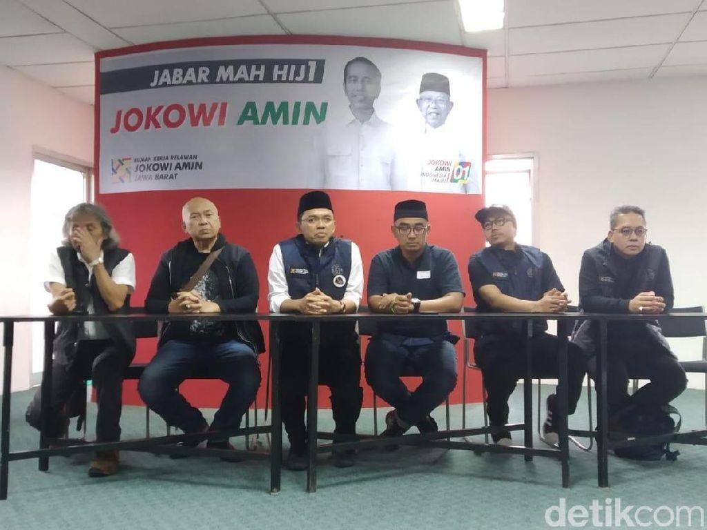 Relawan Jokowi-Maruf Jabar Siapkan Strategi Man to Man Marking