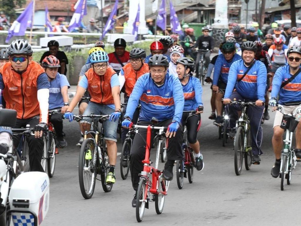 KAI Kampanyekan Peduli Lingkungan lewat Sepeda