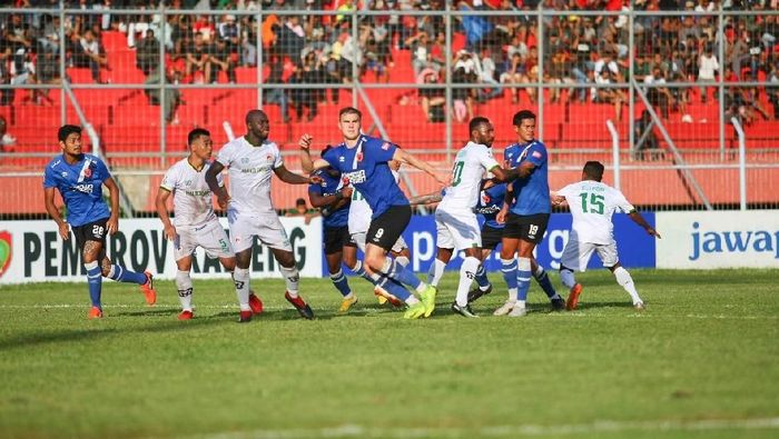 PSM Makassar menang 2-1 atas Kalteng Putra di leg pertama 32 besar Piala Indonesia. (Foto: Dok. PSM Makassar)