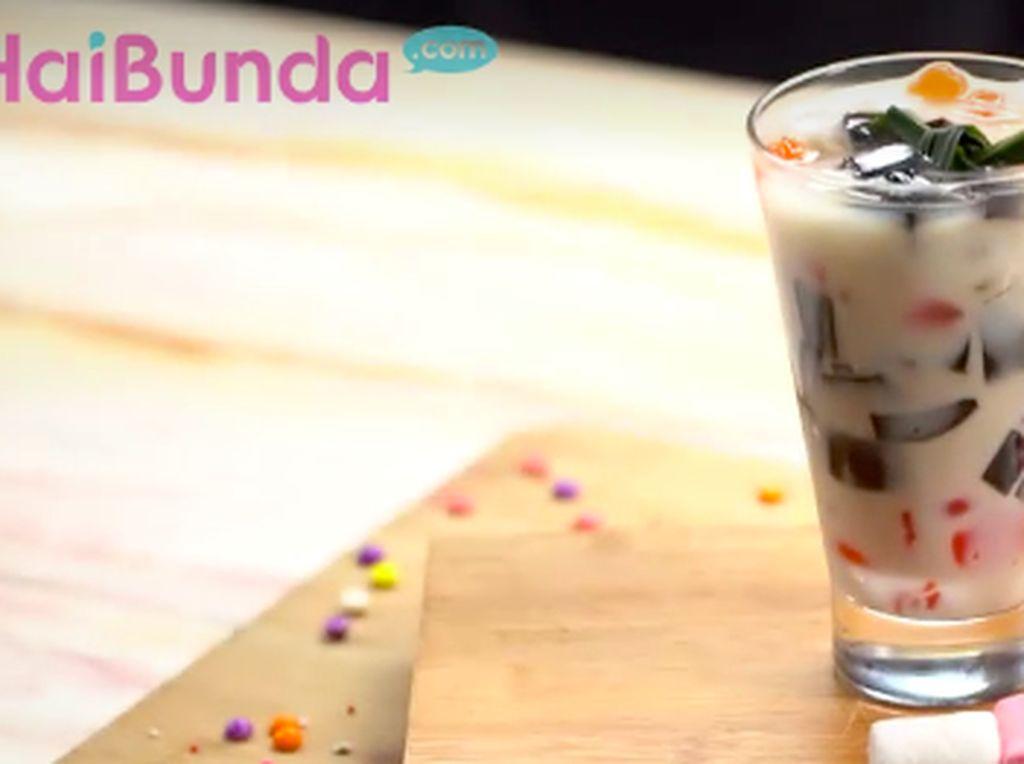 Resep Cincau Gula Merah Susu, Minuman Segar di Akhir Pekan