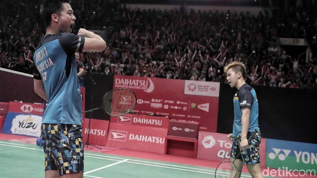 Kevin/Marcus Menang, All Indonesian Final Tersaji