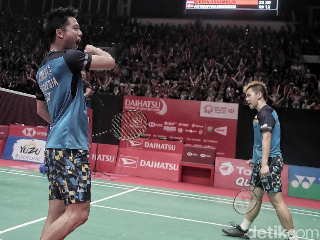 Kevin/Marcus Menang, All Indonesian Final Tersaji
