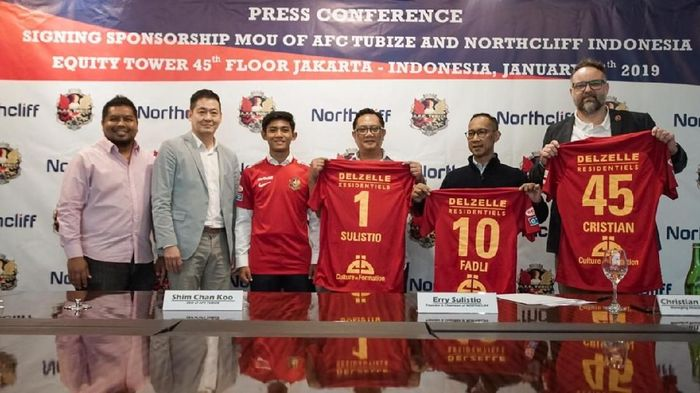Firza Andika gabung AFC Tubize (dok.North Cliff Indonesia)