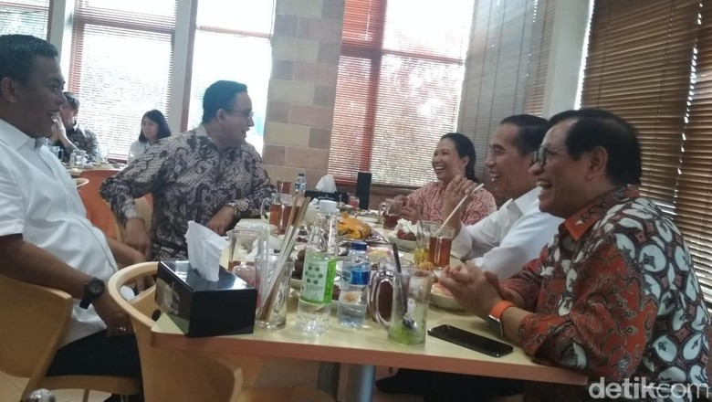 Pujian Anies ke Program Jokowi dan Keakraban Saat Makan Siang