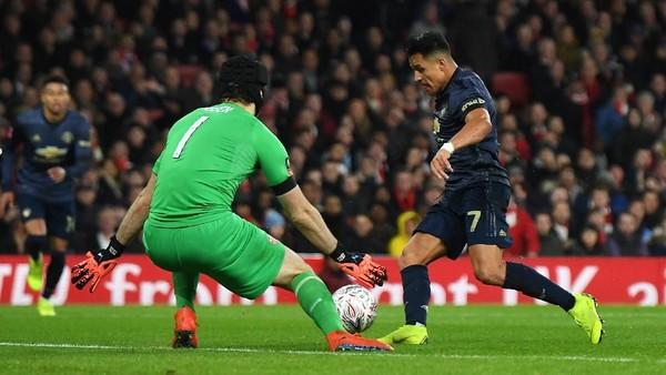 MU Cukur Arsenal 3-1 di Piala FA