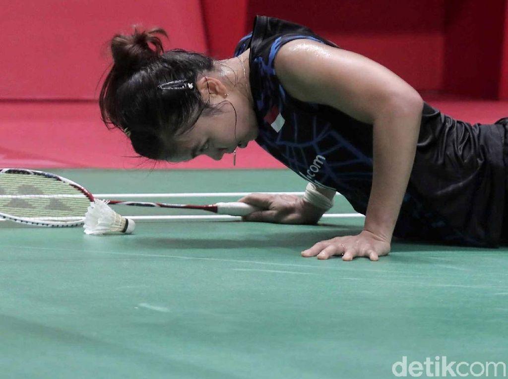 Jatuh Bangun, Greysia/Apriyani Gagal ke Final