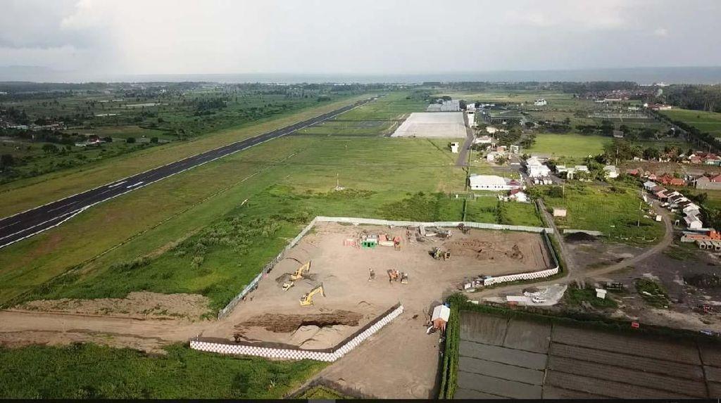 Intip Proyek Runway Bandara Banyuwangi Ditambah Jadi 2.500 Meter