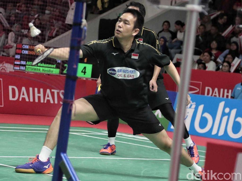 Lolos Final, Hendra/Ahsan Berpeluang Pertahankan Gelar Juara Singapura Terbuka