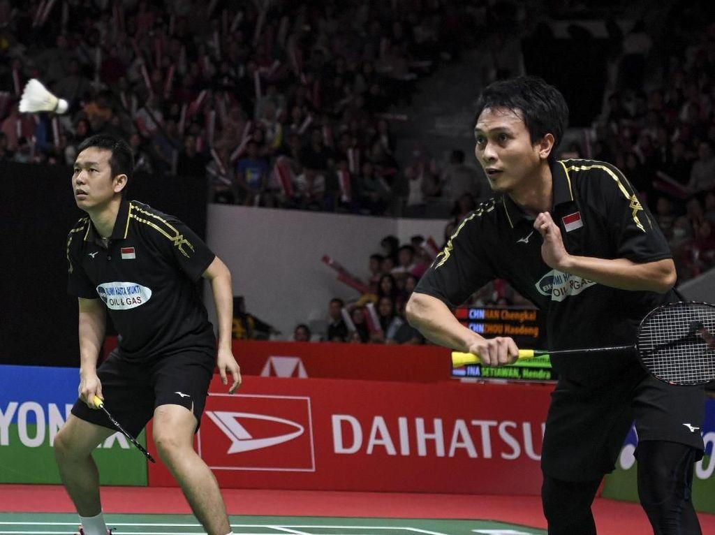 Hendra/Ahsan Pastikan Tiket Final Indonesia Masters 2019