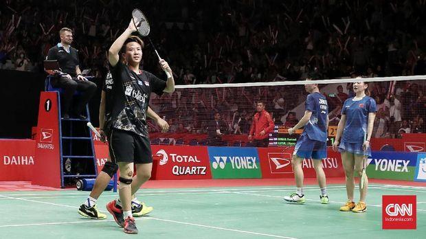 Liliyana Natsir menutup kariernya dengan menjadi runner-up Indonesia Masters 2019.