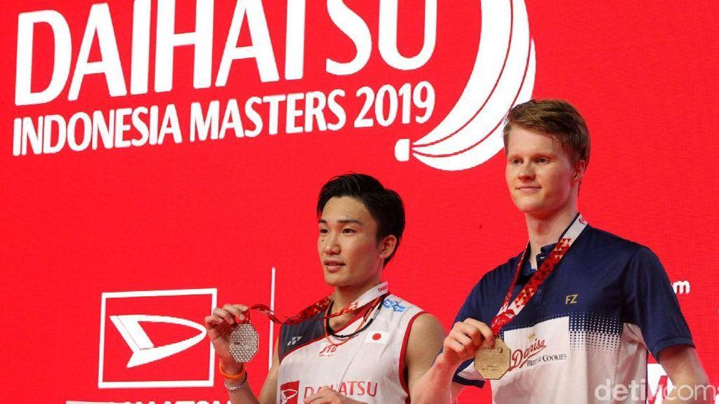 Anders Antonsen Juara Tunggal Putra Indonesia Masters 2019