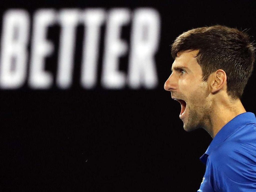 Tumpas Nadal, Djokovic Juarai Australia Terbuka 2019