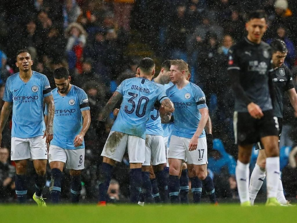 Pesta Gol Man City ke Gawang Burnley