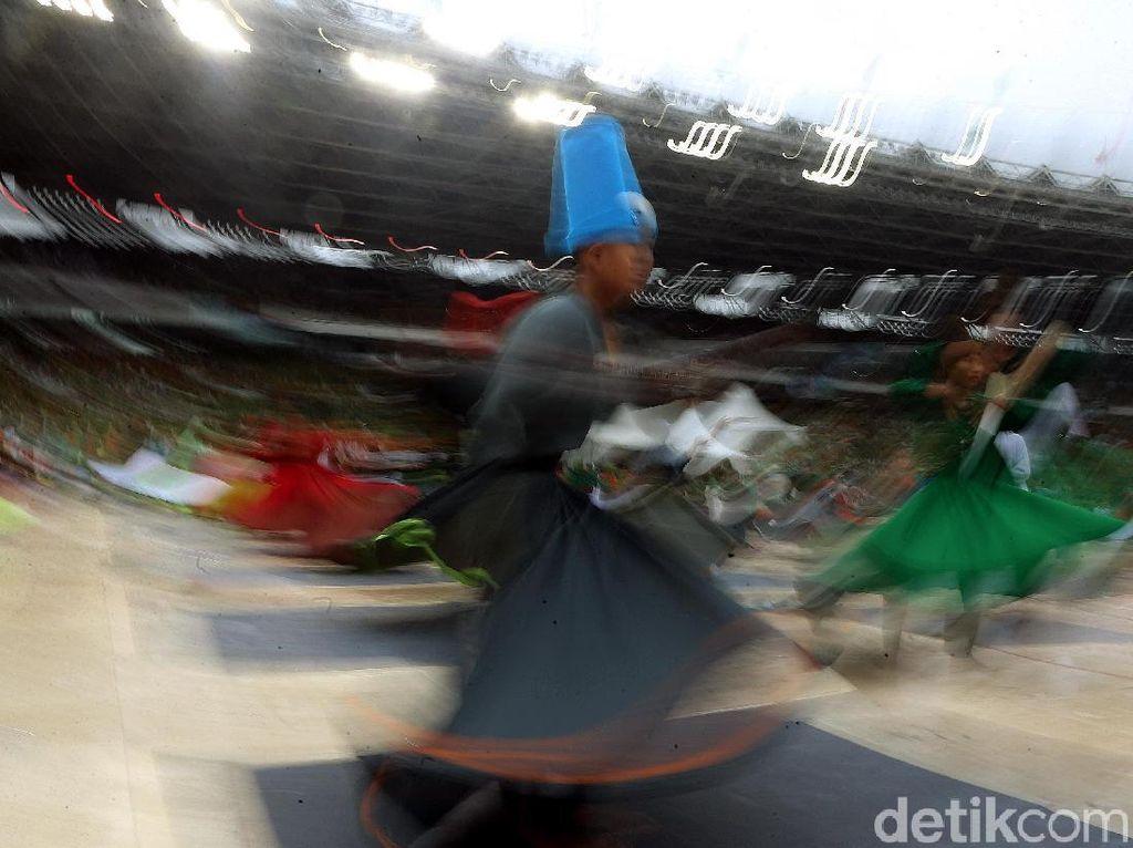 Tarian Sufi Pecahkan Rekor MURI di Muslimat NU