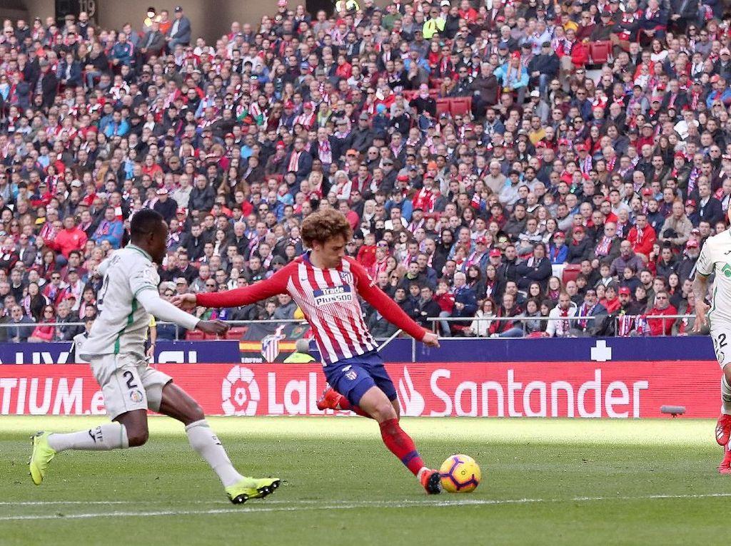 Hasil Liga Spanyol: Atletico Pepet Barcelona Usai Bungkam Getafe 2-0