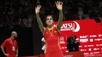 Air Mata Carolina Marin di Final Indonesia Masters 2019