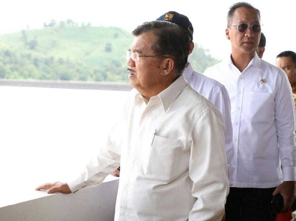 JK Tinjau Hunian Sementara Pengungsi Korban Bencana Sulteng