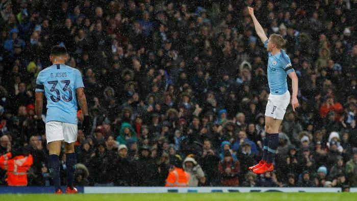 Pemain Manchester City, Kevin de Bruyne. (Foto: Phil Noble/Reuters)