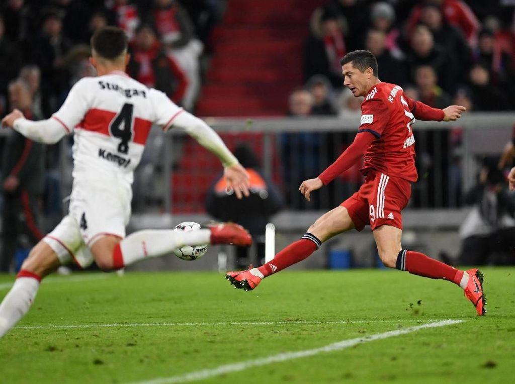 Hasil Liga Jerman: Bayern Tundukkan Stuttgart 4-1