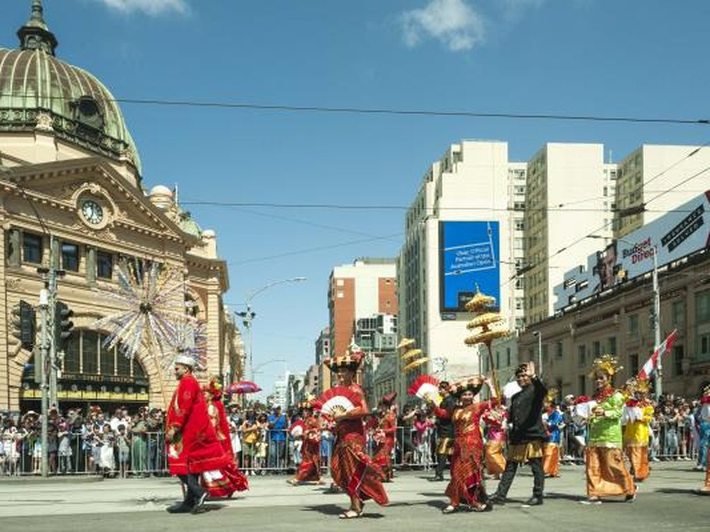 Foto: 10 Bali Baru Ramaikan Parade Australia