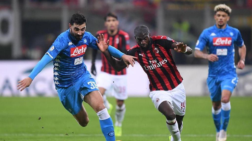 Milan Vs Napoli Tanpa Pemenang