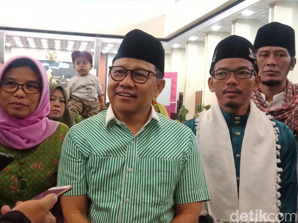 Temui Muslimat NU, Cak Imin Minta Doa Agar Ada 10 Menteri NU di Kabinet
