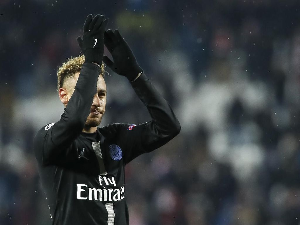 Santer Rumor Neymar Kembali ke Barcelona, Tite: Yang Penting Dia Happy