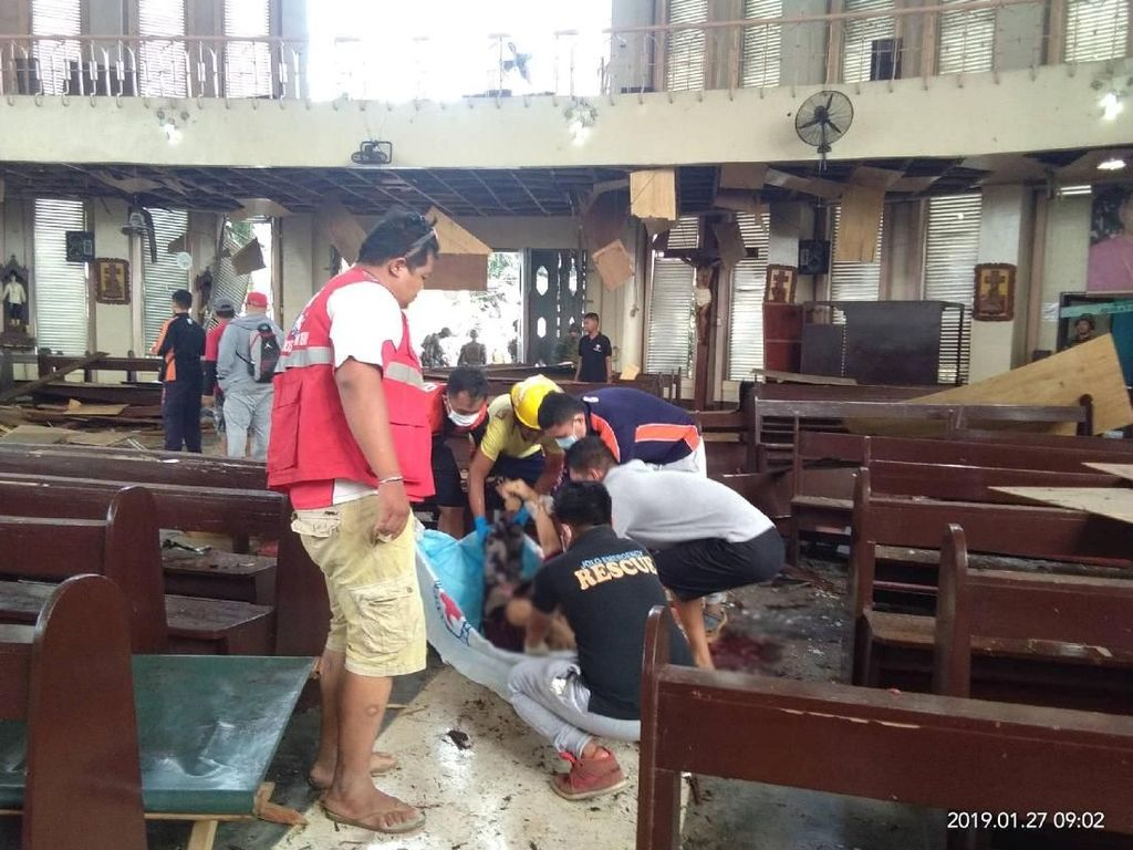 Kemlu RI Sesalkan Filipina Sebut Pelaku Bom di Gereja Pasangan WNI