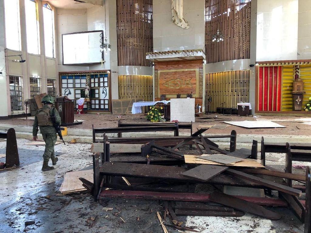 Filipina Jangan Tergesa Simpulkan Penyerang Gereja Warga Indonesia