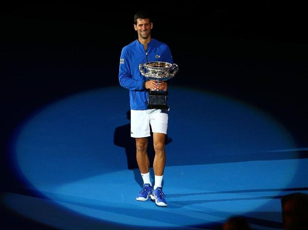 Rekor Grand Slam Federer Membakar Motivasi Djokovic
