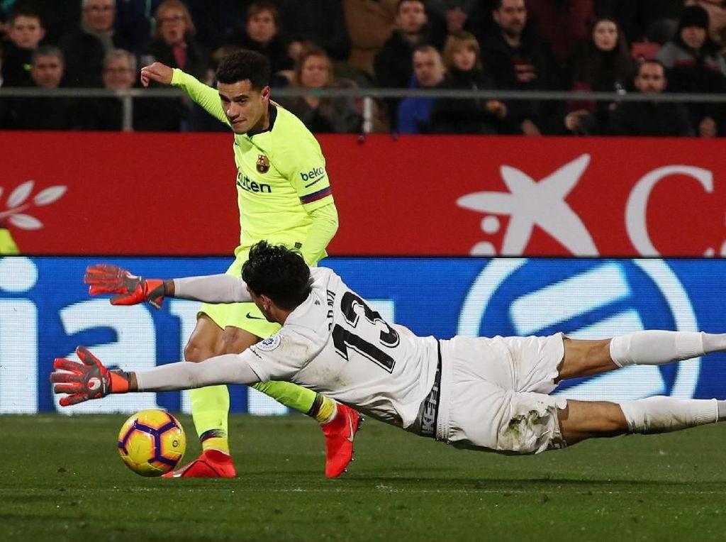 Di Balik Kemenangan Barca atas Girona: Coutinho Diabaikan?