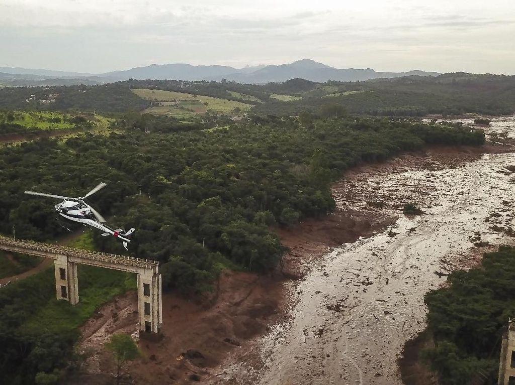 Korban Bendungan Brumadinho Brasil yang Jebol Dapat Santunan Rp 97 T