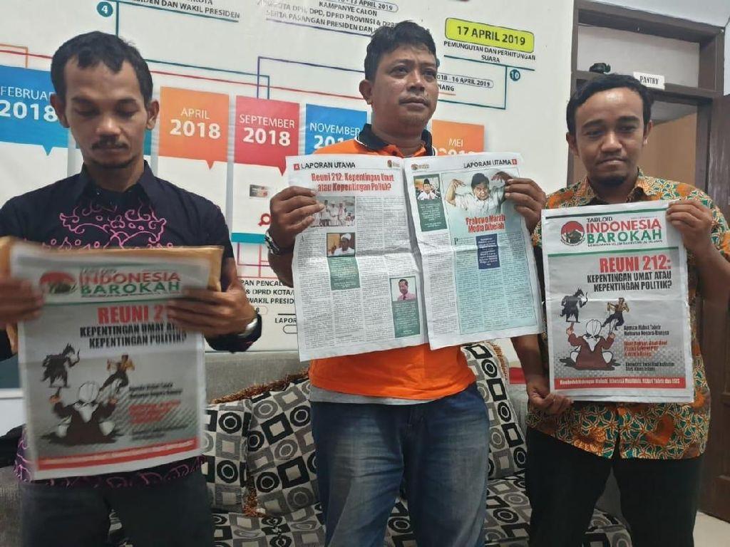 Polres Jaksel Selidiki Pengirim Tabloid Indonesia Barokah