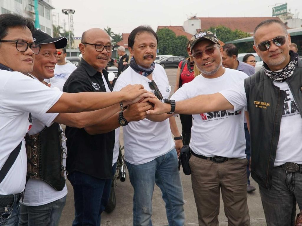 Aksi Sosial Bikers Peduli Ride n Share