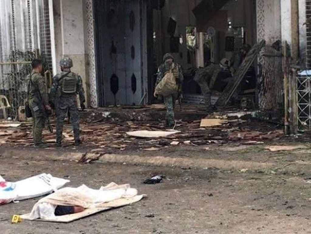 Otoritas Filipina Tunggu Tes DNA Pastikan Pasutri Bomber Gereja