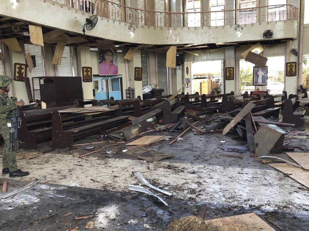 Filipina Ungkap Identitas Salah Satu WNI Pengebom Bunuh Diri di Katedral Jolo