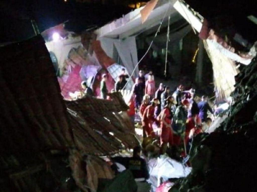 Hotel di Peru Kena Tanah Longsor Saat Pesta Pernikahan, 15 Orang Tewas