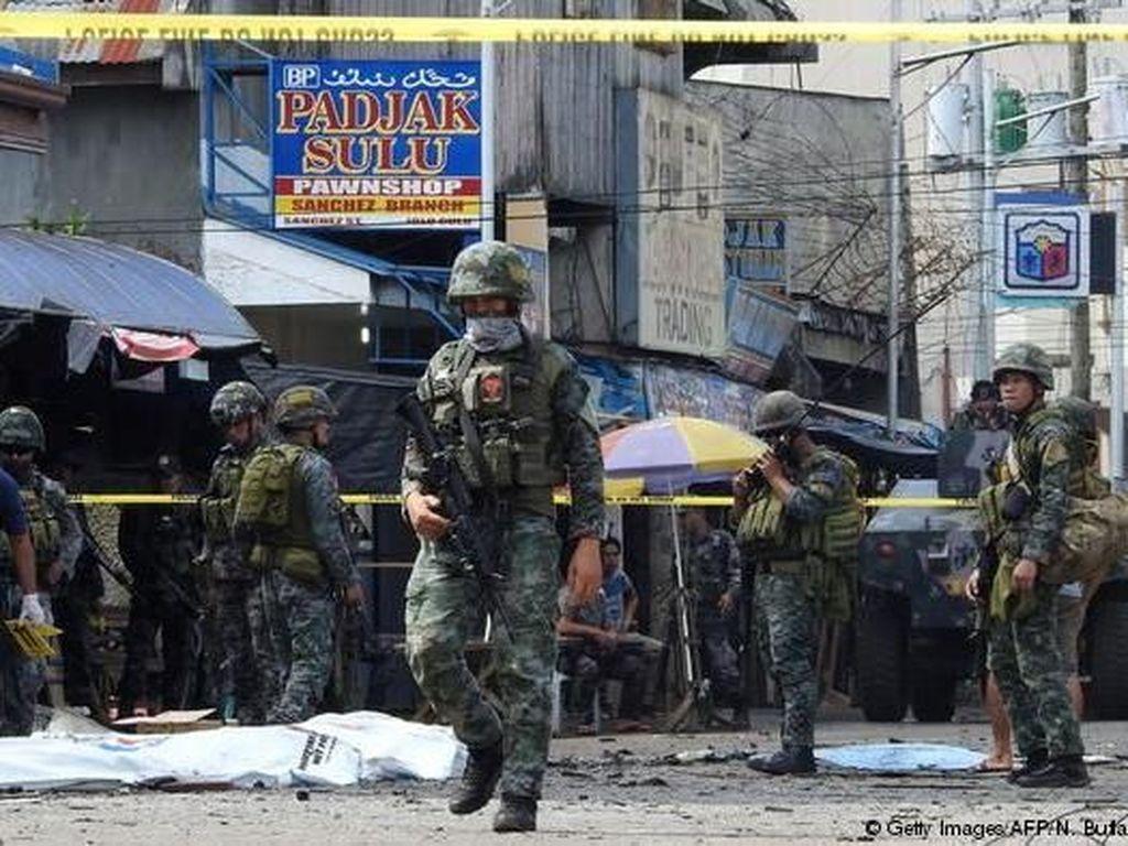 8 Orang Tewas Dalam Baku Tembak Tentara Filipina-Kelompok Abu Sayyaf