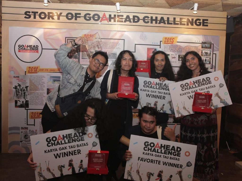 Widi Maliq & DEssentials Harap Jawara Go A Head Challenge Tak Batasi Karya