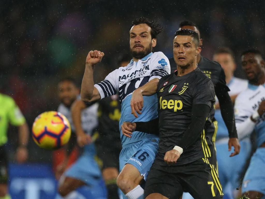 Juventus Tundukkan Si Elang Lazio di Olimpico