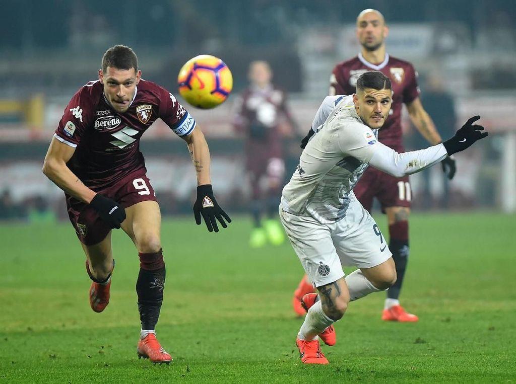Inter Milan Tumbang Diseruduk Il Toro